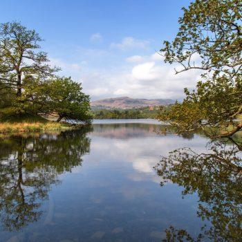 Looking up Rydal Water