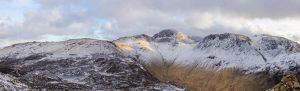 Panoramic view from Haystacks