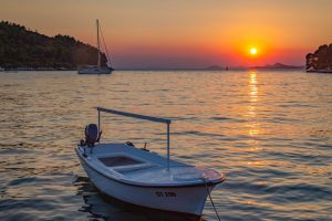 Sunset at Cavtat