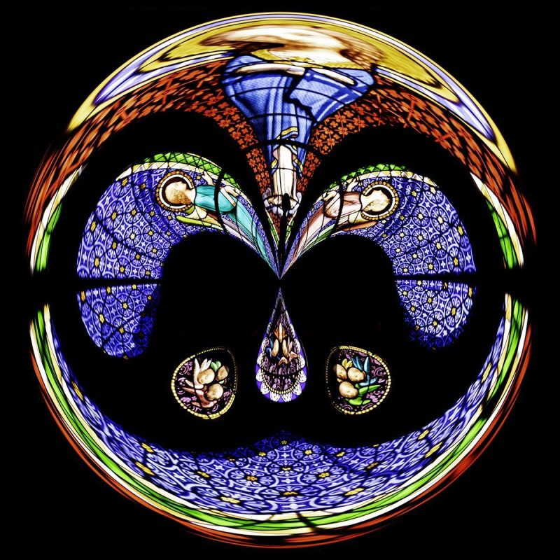 Stained Glass, Evian PSC006