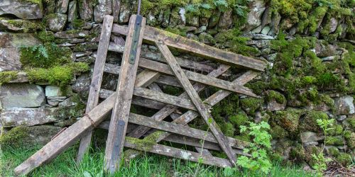 Old gate by Rydal Water