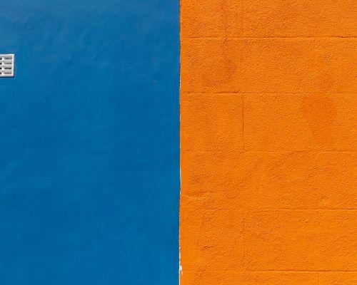 Blue and Orange