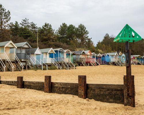 Groyne & Beach Huts