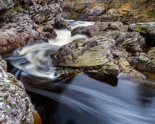 Swirls in the water