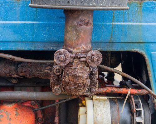 Exhaust Pipe on 1979 Belarus Tractor