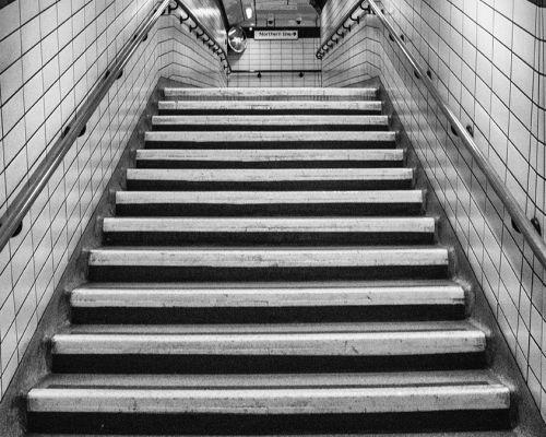 Steps in the underground