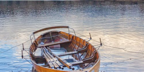Rowing Boat at Keswick