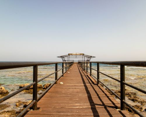 Disused pier at Famagusta
