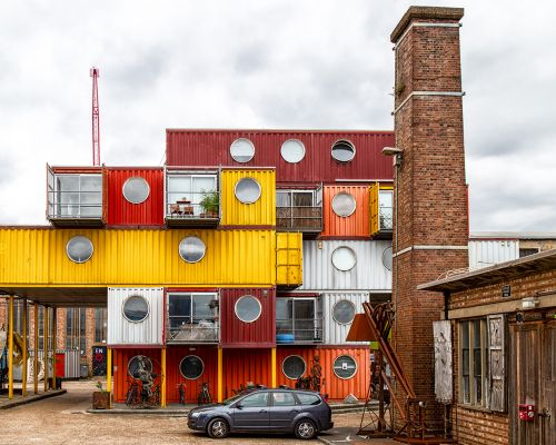 Homes in containers