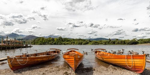 Rowing Boats, Keswick
