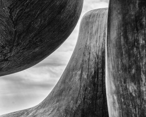 Henry Moore Three Piece Reclining (Monochrome)
