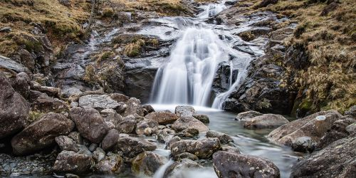 Waterfall on Warnscale Beck