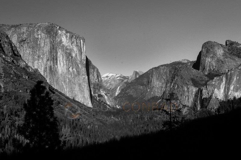 © Paul Conrad/Pablo Conrad Photography - The View of Yosemite Valley in Yosemite National Park, Calif., on Thursday Mar. 5, 2015.