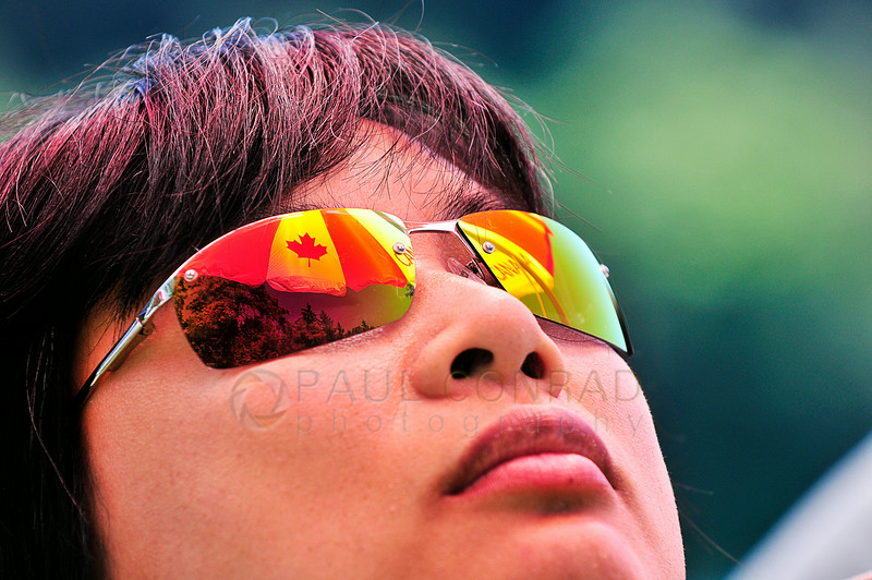 © Paul Conrad/The Bellingham Herald - Helen Yip of Vancouver, B.C., naps under her umbrella during the 2014 Bellingham Regatta hosted by the Bellingham Canoe & Kayak Sprint Team on Lake Padden on Saturday  morning June 14, 2014, in Bellingham, Wash.