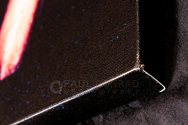© Paul Conrad - Close up of my Canvas Champ print showing the exposed canvas edge.