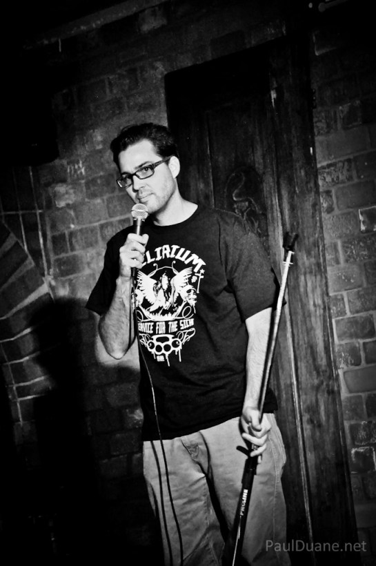 Salt Lake City based stand up comic Andy Farnsworth