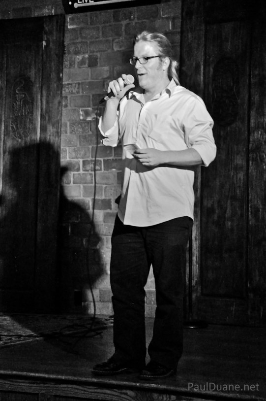 Salt Lake City based stand up comic Paul Duane