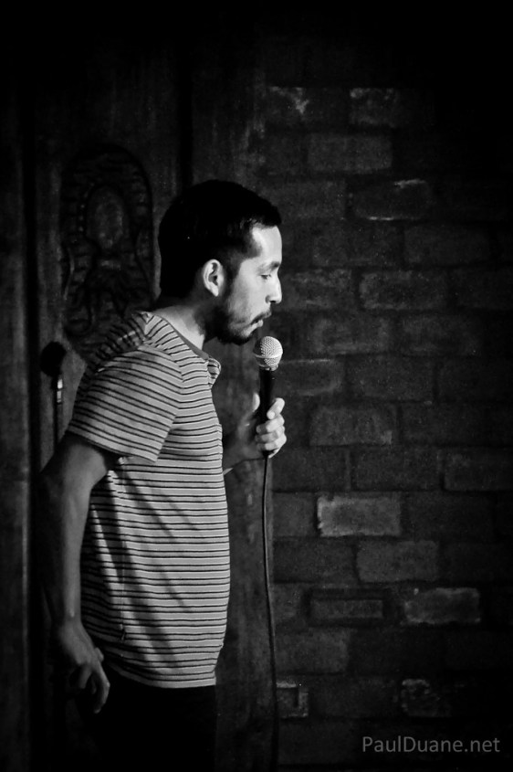 Salt Lake City based stand up comic Manuel Rodriguez