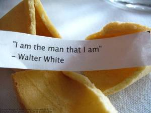 """""""I am the man that I am"""" - Walter White"""