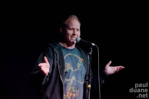 SLC stand up comedian Colin Waters