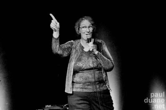 singing stand up comic, C.J.