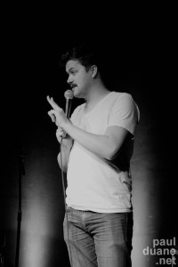 Salt Lake City, UT stand up comic Ryan Holyoak