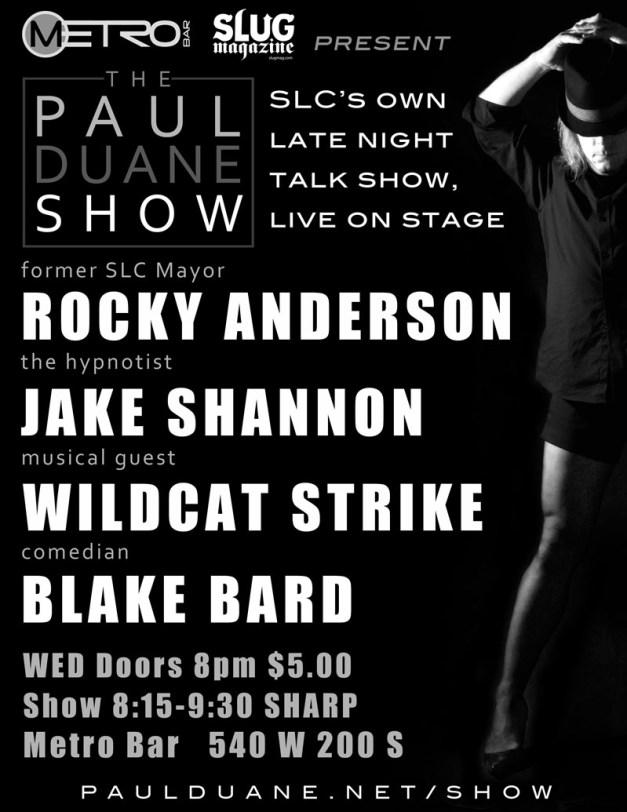 Paul Duane Show March 13 2013