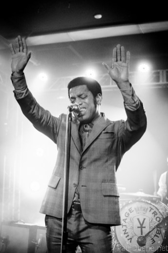 black and white concert Ty Taylor Vintage Trouble singer