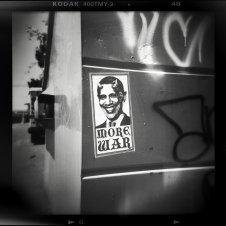 holga obama more war black and white street photography
