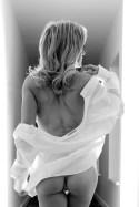 black and white boudoir portrait SLC Utah