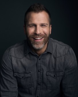 Screenwriter Adam Simon, photo by Luke Fontana