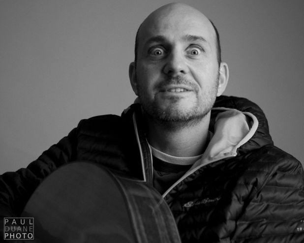 Singer / songwriter Peter Breinholt photographed by Paul Duane