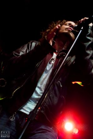 Chris Cornell performing at The Depot