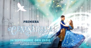 cover premiera Cenușăreasa_ Teatrul EXCELSIOR