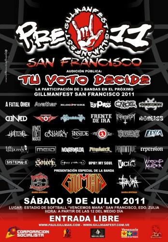 PRE-GILLMANFEST SAN FRANCISCO 2011
