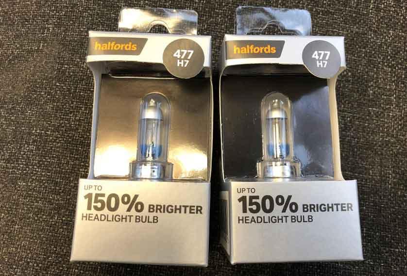 Halfords bulbs