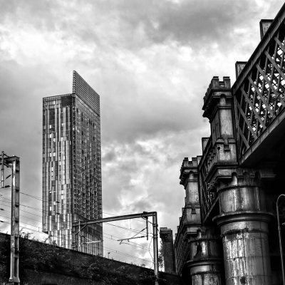 Beetham Tower and Castlefield Viaduct, Manchester Manchester Landscapes Architecture