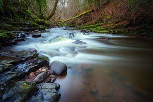 Brock Bottoms Cascades | Forest Of Bowland Photographic Print Landscapes Photography Autumn