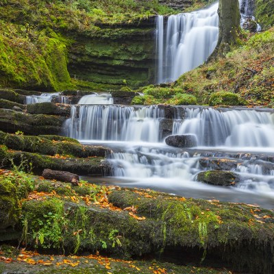 Cascades Scalebar Force Waterfall, a Yorkshire Landscape Print Yorkshire Landscapes colour