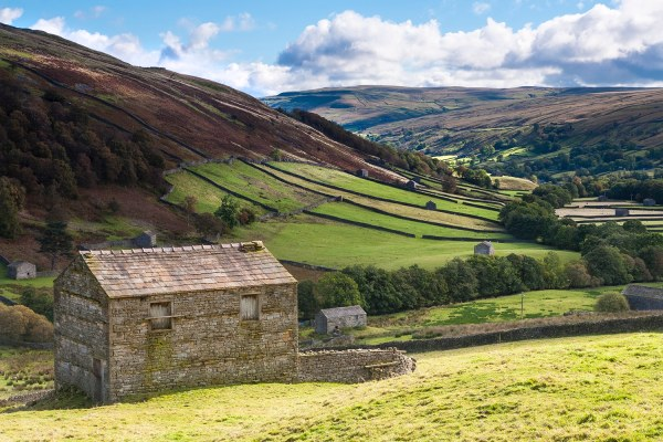 Fine art photographic print of England's Glorious Countryside Yorkshire Landscapes colour