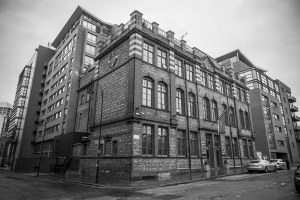 Great John Street Hotel Manchester Black and White Landscape Manchester Landscapes Architecture