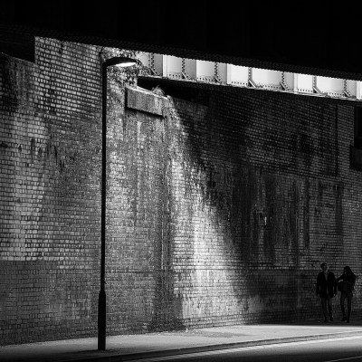 Manchester Street Scene, Light and Shadow Manchester Landscapes Ancoats