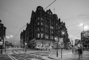 The Midland Hotel Manchester Black & White Manchester Landscapes Architecture
