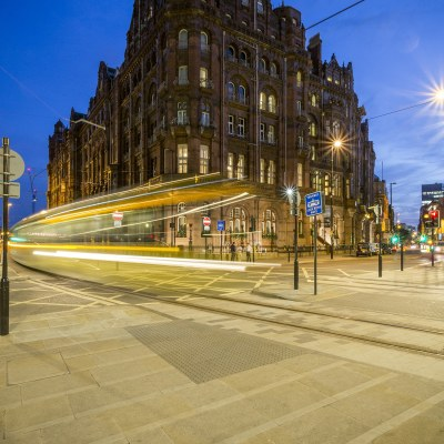 The Midland Hotel At Night, Manchester Premium Collection Manchester Landscapes Architecture