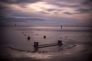Another Place, Crosby, a fine art photograph Coastal Landscapes 'Another Place'