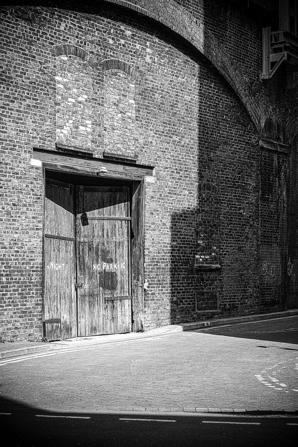 Archways, Manchester Urban Black and White photograph Manchester Landscapes Architecture
