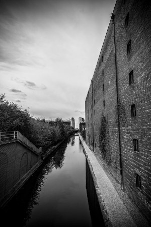 Football and Industry Manchester landscape photograph Manchester Landscapes Architecture
