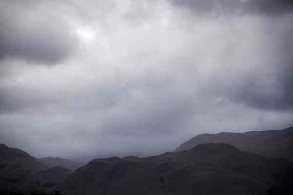 Hallin Fell Drama From Ullswater, Photographic Print Lake District Landscapes Colour Photo