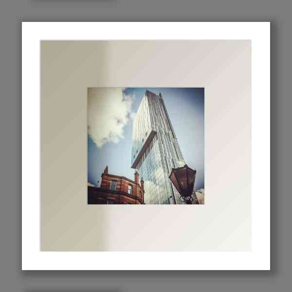 Beetham Tower Colour Print | Micro Manchester Series Micro Manchester Beetham Tower
