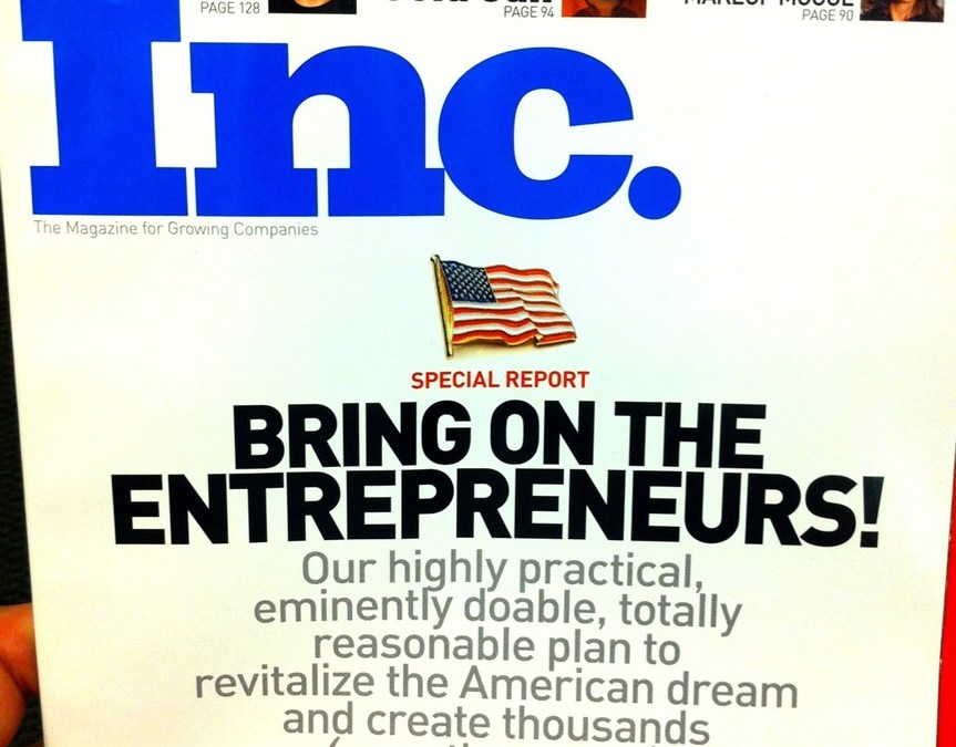 Inc. Magazine on Entrepreneurship
